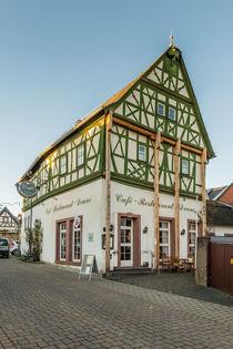 Café Denne in Kiedrich von Erhard Hess