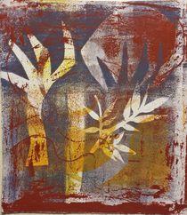 Evening Trees von Marie-Nathalie Kröss