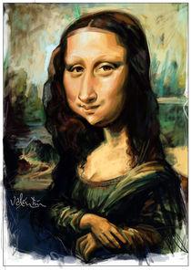 Gioconda / Mona Lisa Caricature by creartiv3