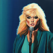 Deborah Harry of Blondie painting by Paul Meijering