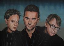Depeche Mode painting von Paul Meijering