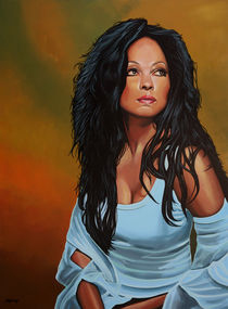 Diana Ross painting von Paul Meijering