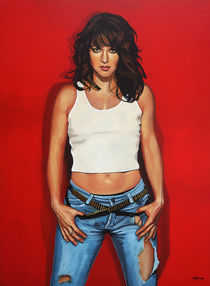 Ellen ten Damme painting von Paul Meijering