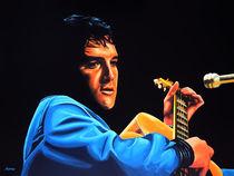 Elvis Presley painting 2 by Paul Meijering