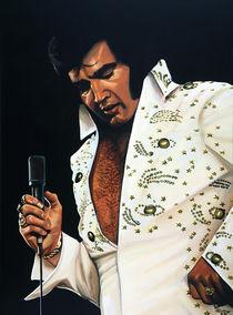 Elvis Presley painting von Paul Meijering