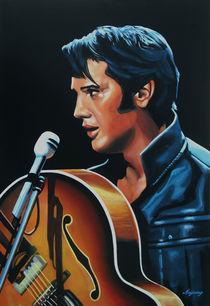 Elvis Presley painting 3 by Paul Meijering