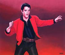 Elvis Presley painting 4 von Paul Meijering