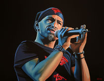 Eros Ramazzotti painting by Paul Meijering