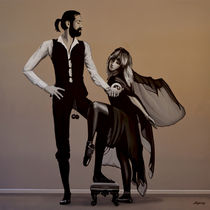 Fleetwood Mac Rumours painting von Paul Meijering
