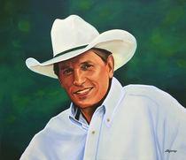 George Strait painting von Paul Meijering