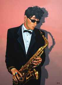 Herman Brood painting by Paul Meijering