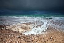 Stormy ocean by Olha Rohulya