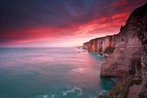 Dramatic sunrise by Olha Rohulya