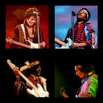 Jimi Hendrix Collection by Paul Meijering
