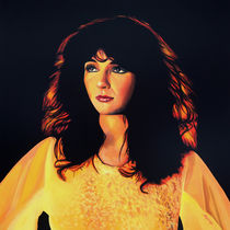 Kate Bush painting von Paul Meijering
