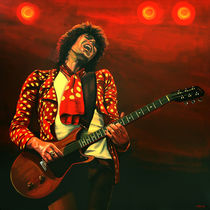 Keith Richards of The Stones painting  von Paul Meijering