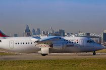 Avro RJ85 Jet London by David Pyatt