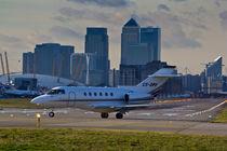 London city Airport by David Pyatt