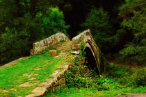 Beggars Bridge in Glaisdale North Yorkshire von Louise Heusinkveld