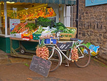 Produce Market in Corbridge von Louise Heusinkveld