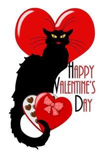Le Chat Noir Valentine by gravityx9