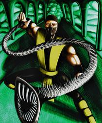 Scorpion Mortal Kombat fanart von Dora Vukicevic