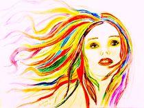Coloured Woman von pencilart