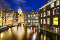 Amsterdam at Night von Michael Abid