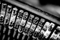 Corona Four Typewriter Detail von Jon Woodhams