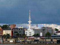 Skyline of Hamburg/Germany -Hafen Hamburg von madle-fotowelt