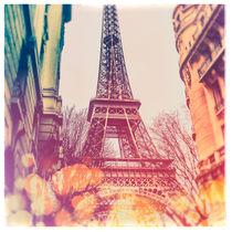 The Eiffel Tower (Vintage Polaroid Style) by jaysanstudio