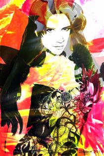 """""""Flowerwoman""""  von Jasmin Metzen"""
