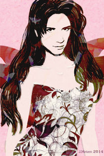 """Flowerwoman2"" by Jasmin Metzen"