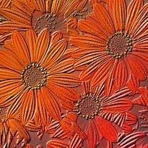 Blossom, full frame, engraved von mehrfarbeimleben