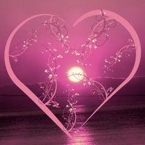 Floral heart, rose von mehrfarbeimleben