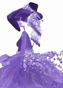 """""""Lila Traum"""" by Jasmin Metzen"""
