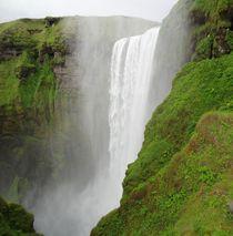 gigantic waterfall by mehrfarbeimleben