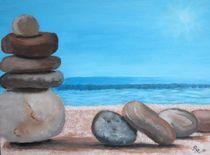 Steine und Meer von Rena Rady