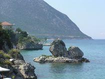 Griechenland, Felsen von mehrfarbeimleben