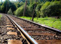 Bahnstrecke von mehrfarbeimleben