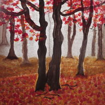 Coloured  Autumn- Teilansicht  by Rena Rady