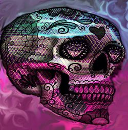 Colorful-skull