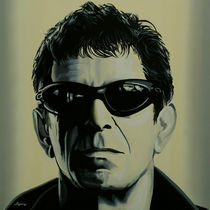 Lou Reed painting  by Paul Meijering