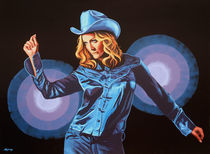 Madonna painting by Paul Meijering