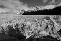 Perito Moreno Glacier, Argentina, b/w von travelfoto