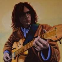 Neil Young painting von Paul Meijering