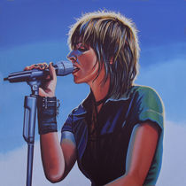 Nena painting  by Paul Meijering