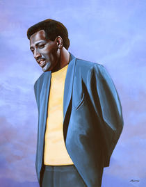 Otis Redding painting von Paul Meijering