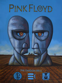 Pink Floyd The Division Bell painting von Paul Meijering