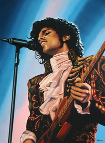 Prince painting by Paul Meijering